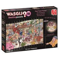Wasgij Destiny 18 Fast Food Frenzy 1000 Piece Jigsaw Puzzle