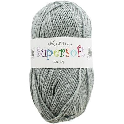 Kiddies Supersoft Dk Soft Grey Yarn - 100g image number 1