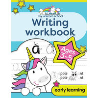 My Unicorn School Writing Workbook: Age 3‑5