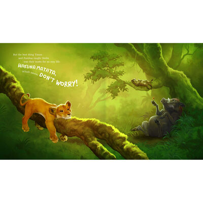 The Lion King: Illustrated Picture Book image number 2