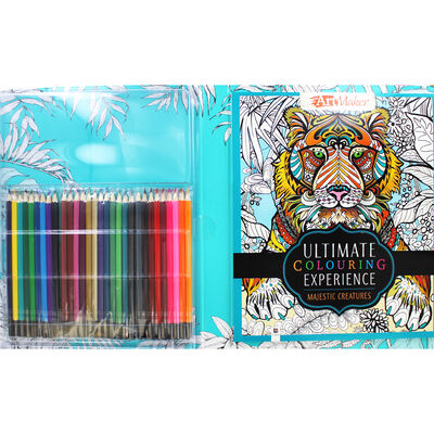 Ultimate Colouring Experience - Majestic Creatures image number 2