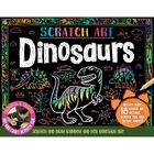 Scratch Art Dinosaurs image number 1