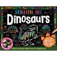 Scratch Art Dinosaurs