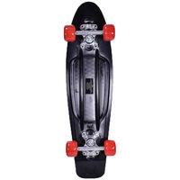 Retro Black Plastic Skateboard 22 Inch