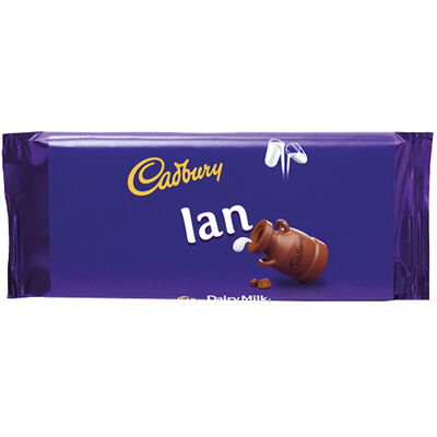 Cadbury Dairy Milk Chocolate Bar 110g - Ian image number 1