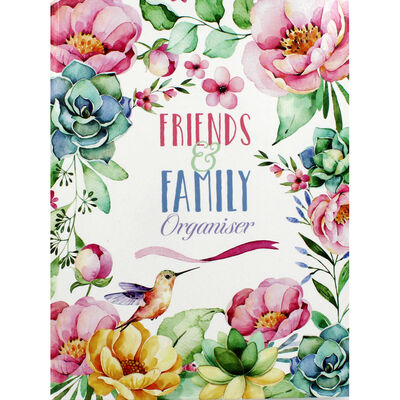 Floral Bird Friends and Family Organiser image number 1