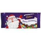 Cadbury Dairy Milk Chocolate Bar 110g - Merry Christmas image number 1