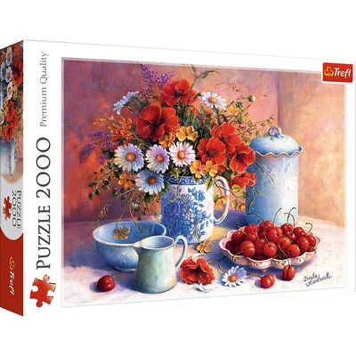 Sweet Afternoon 2000 Piece Jigsaw Puzzle image number 1