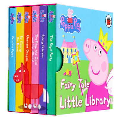Peppa Pig: Fairy Tale Little Library image number 1