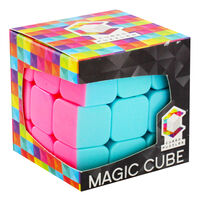 Rounded Edge Neon Magic Cube