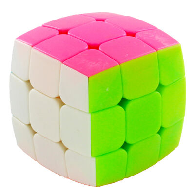 Rounded Edge Neon Magic Cube image number 3