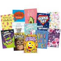 Complete Box of 576 Greetings Cards - 12x48 New Designs