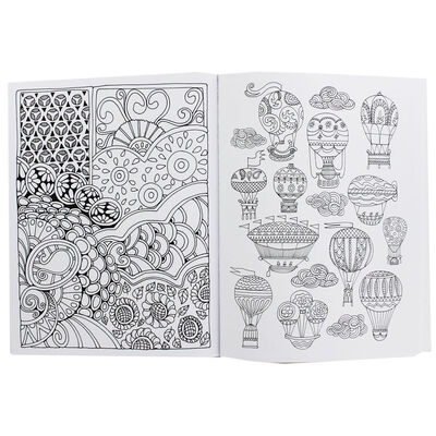 The Art Of Mindfulness: Peace and Calm Colouring image number 2