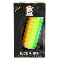 Slide and Spin Magic Puzzle - 7 Layers