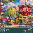 Secret Temple, Blooming Paris & Amsterdam Canal 1000 Piece Jigsaw Puzzle Bundle image number 2