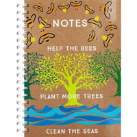 A4 Save The Bees Notebook