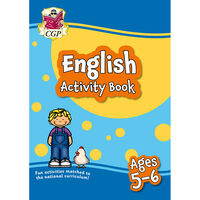 English Activity Book: Ages 5-6
