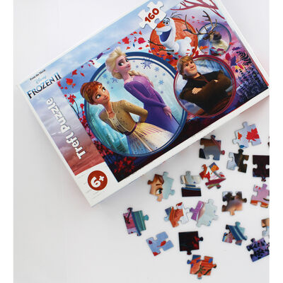 Disney Frozen 2 160 Piece Jigsaw Puzzle image number 3