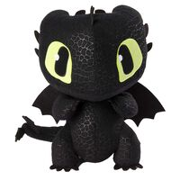 How to Train Your Dragon: Squeeze & Growl Toothless Plush