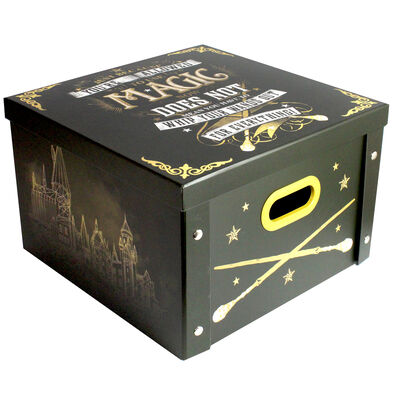 Harry Potter Use Magic Collapsible Storage Box image number 1