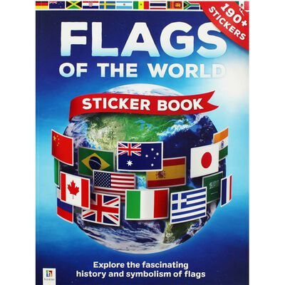 Flags of the World Sticker Book image number 1