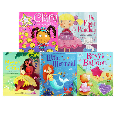 Girlie Fun - 10 Kids Picture Books Bundle image number 3