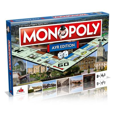 Ayr Monopoly Board Game image number 1
