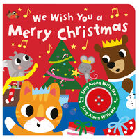 We Wish You A Merry Christmas Sound Board Book