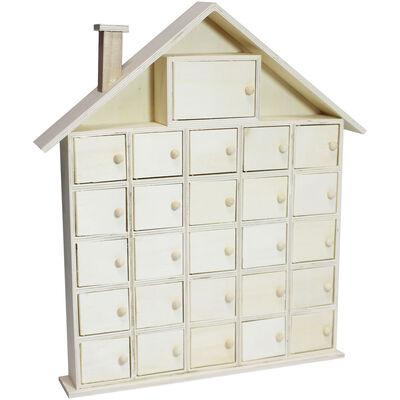 Wooden House Advent Calendar image number 1