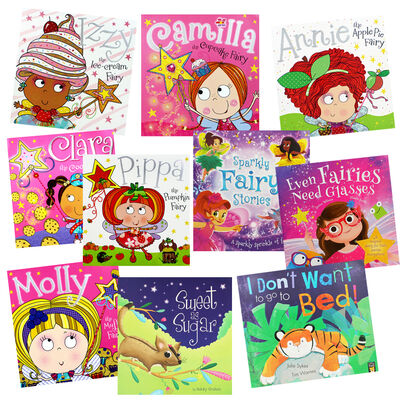 Pretty Fairies and Friends - 10 Kids Picture Books Bundle image number 1