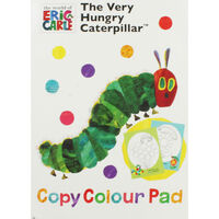 The Very Hungry Caterpillar Copy Colour Pad