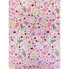 Pink Flower Print Under Bed Collapsible Storage Box image number 3
