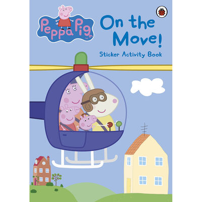 Peppa Pig: On the Move! Sticker Activity Book image number 1