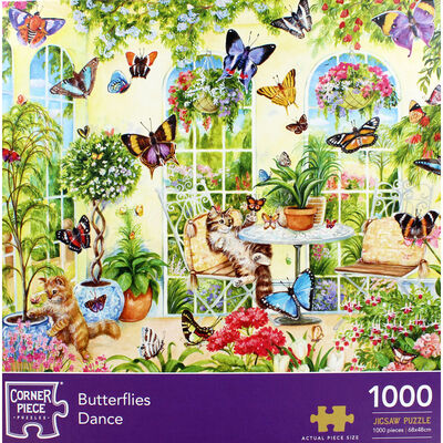 JCP 1000pc Butterflies Dance image number 2