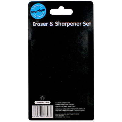 Eraser And Sharpener Set image number 3