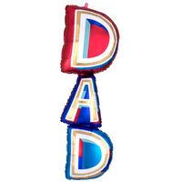 39 Inch Dad Supershape Helium Balloon