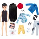 Creatable World Deluxe Character Kit Customizable Doll: Black Straight Hair image number 2