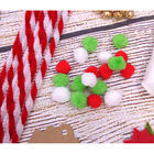 Red and White Candy Cane Pipe Cleaners - 60 Pack image number 3