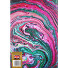 A4 Casebound Plain Marble Notebook image number 3