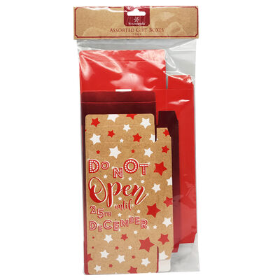 Assorted Foldable Gift Boxes: Pack of 3 image number 1