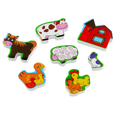 Farmyard Chunky Wooden Puzzle image number 3