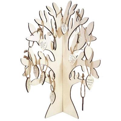 Celebration Wooden Hanging Tree image number 2