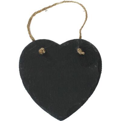 Heart Shaped Slate Message Board image number 1