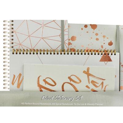 Foiled Stationery Set image number 1