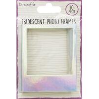 Dovecraft Essentials Photo Frames - Iridescent - 10 Pack