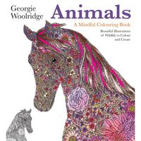 Animals: A Mindful Colouring Book