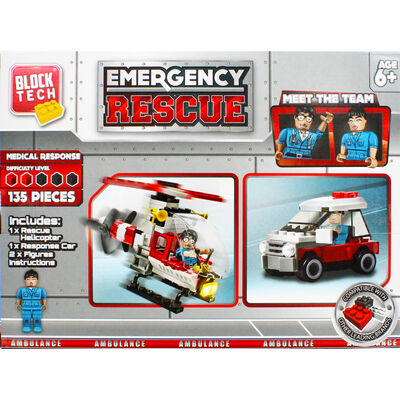 Block Tech Emergency Rescue Set image number 4