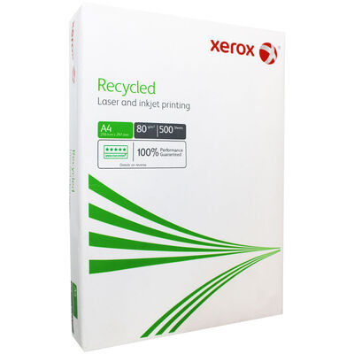 Xerox Recycled A4 80gsm Printer Paper - 500 Sheets image number 1