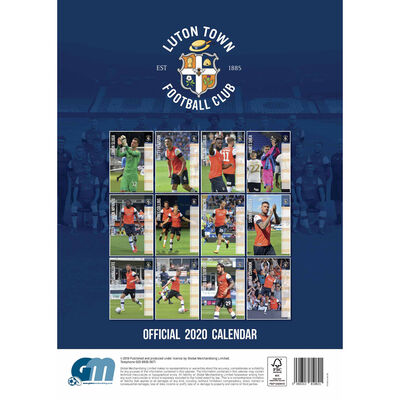 Luton Town FC Official 2020 Calendar image number 3
