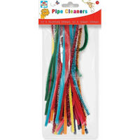 50 Assorted Pipe Cleaners
